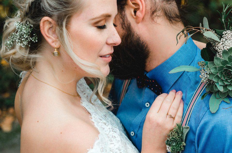 Hochzeitsinspiration - Goldene Herbstliebe